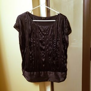 Theory Loose Fit Dolman Sleveless Blouse size M